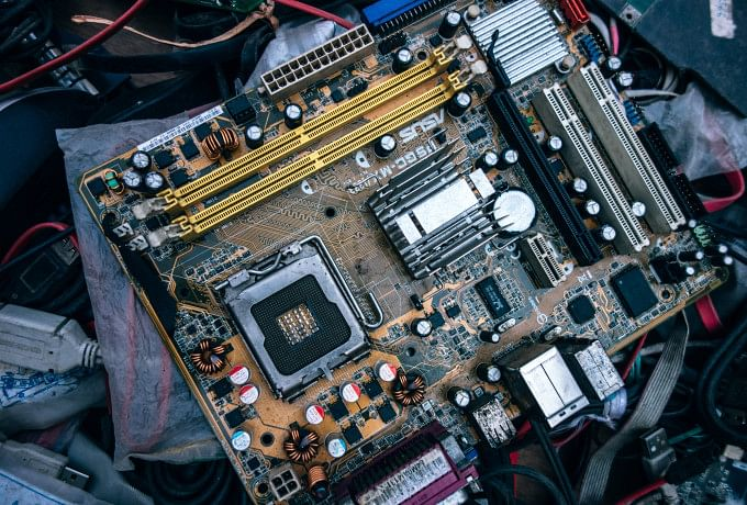 Used CPU and motherboard - Fully working photo 0